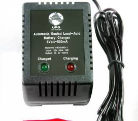 Battery Charger - 6 Volt