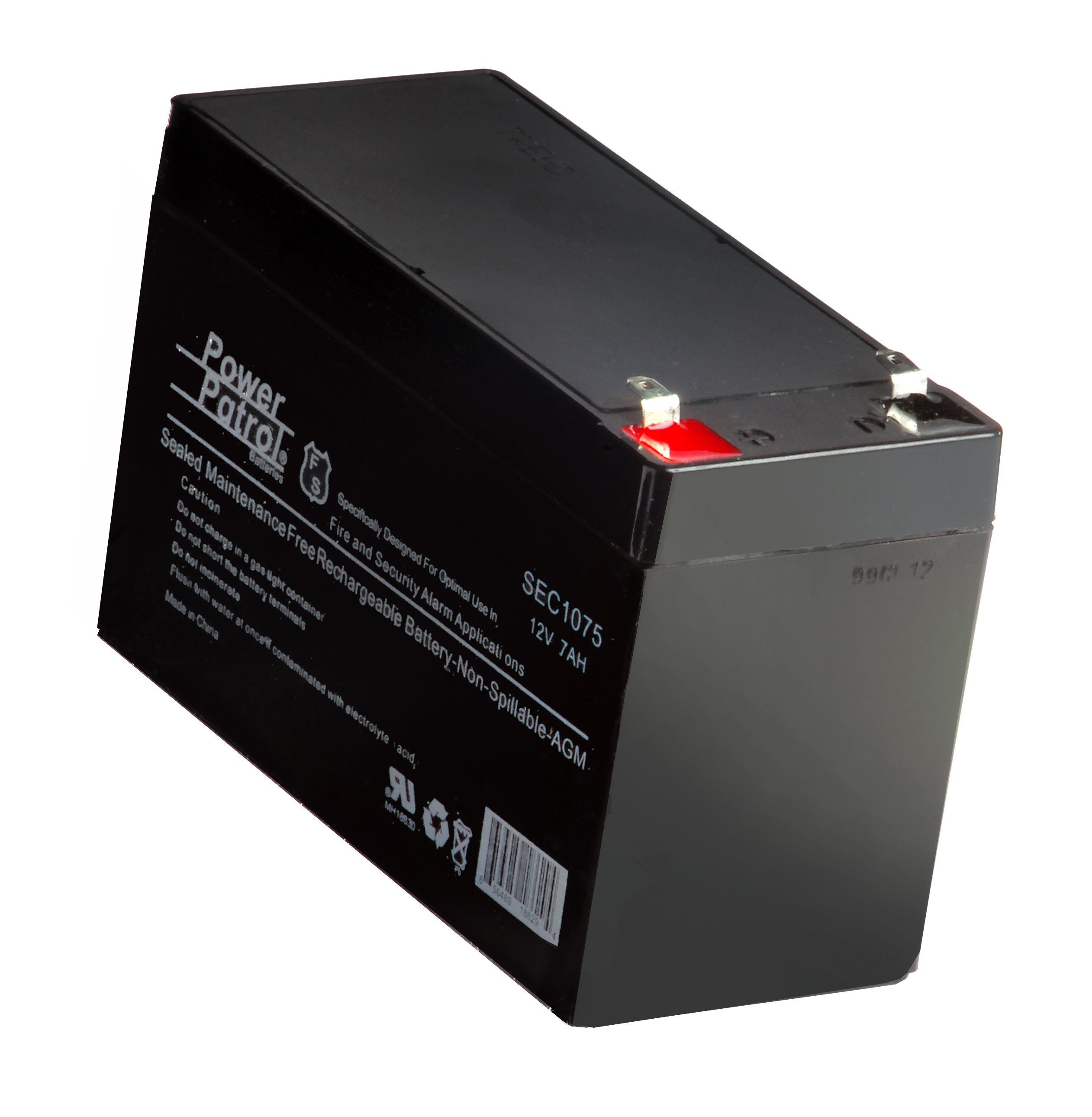 rechargeable battery 12 volt 8 amp hr sweeney feeders. Black Bedroom Furniture Sets. Home Design Ideas
