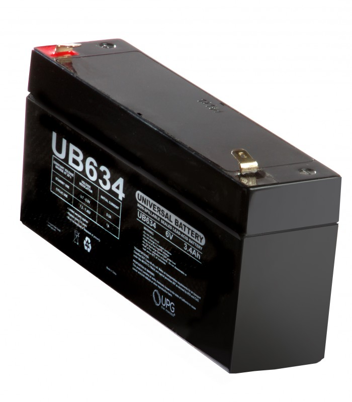 Rechargable Battery – 6 Volt, 3.4 Amp-Hr