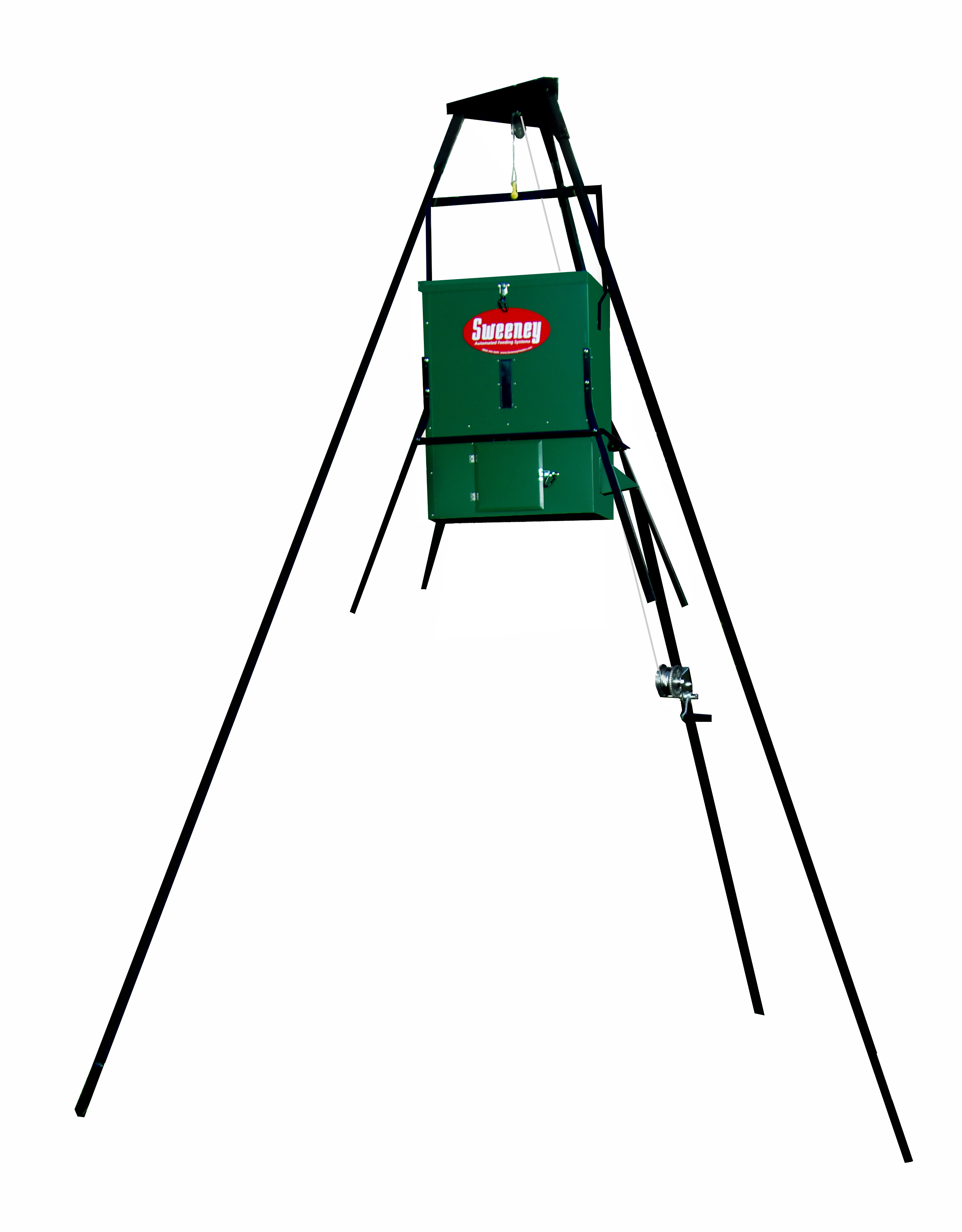 SCATTER FEEDER COMPLETE PACKAGE – 300 LB. CAPACITY