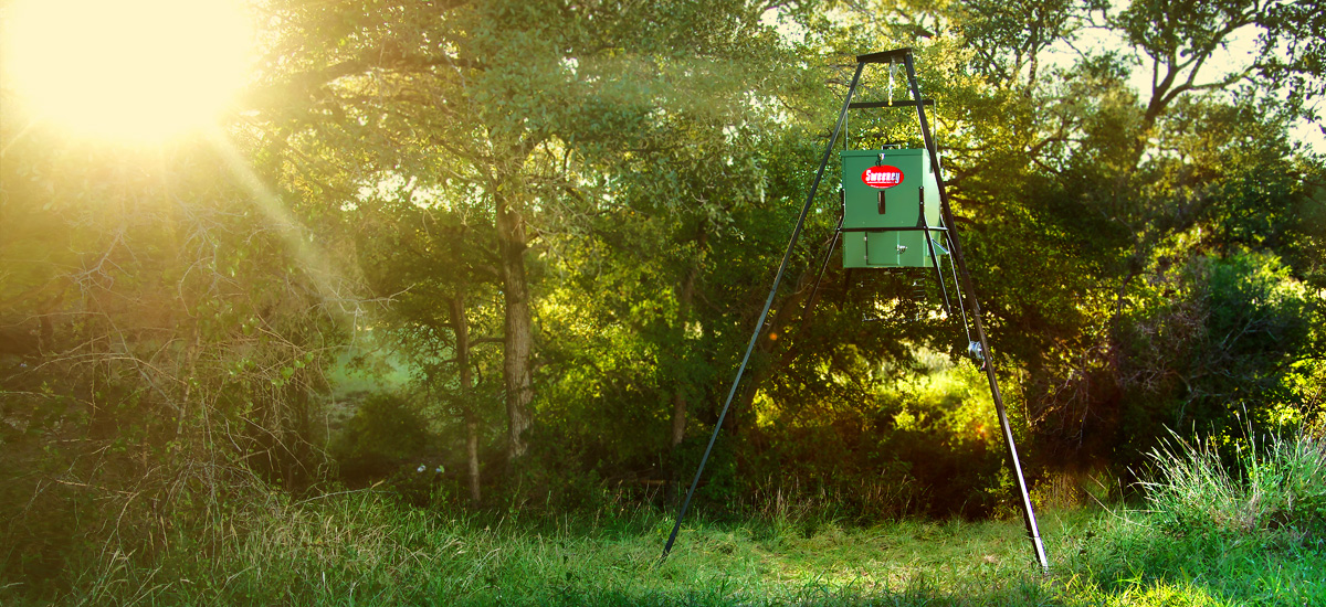Solar Charging Feeders | Durable Solar Feeders - Sweeney Feeders