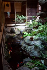 Art House Koi Pond. Perfect design to create a serene mood in your home. (Photo courtesy of flickr.com via Yu-Ta Lee)